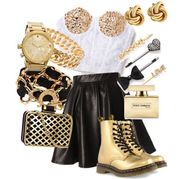 """""""Gold"""" by sarahisfashion on Polyvore"""