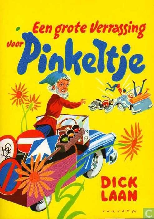 Een grote verrassing voor Pinkeltje. Mijn favoriete Pinkeltjes-boek.