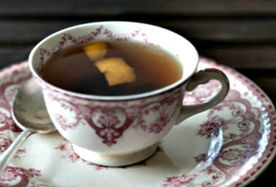 Hot toddy with dried cherries and lime | Drink up | Pinterest
