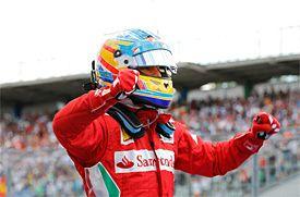 Ferrari: Alonso, corriendo mejor que nunca