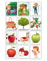 Jeu d'images-Les pommes