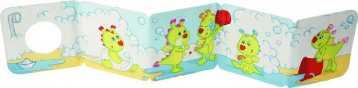 Bath book with squirting dragon Bodo - Haba www.kidsandchic.com/bath-book-with-squirting-dragon-bodo-haba.html  #kids #toys #haba #kidstoys #boys #girls #shoponline #niña #niño