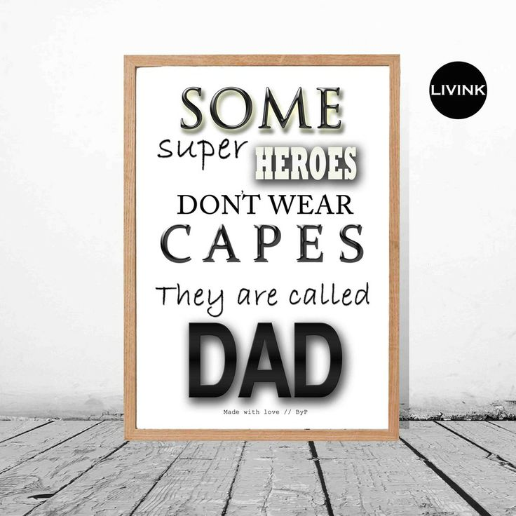 50 x 70 Superhero-DAD via LIVINK. Click on the image to see more!