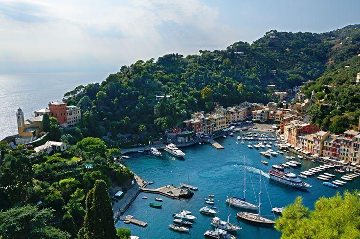 Portofino in Ligurien ist einfach zauberhaft