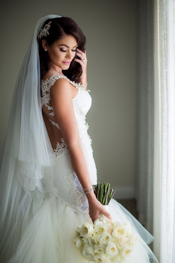 Luxury Bridal Look with a Galia Lahav Wedding Dress | Lin and Jirsa Photography on  @BelleMagazine via @aislesociety