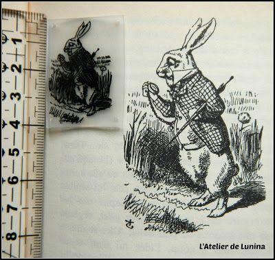 Tuto / DIY : Alice aux Pays des Merveilles Lapin Blanc plastique fou dingue - Shrink Plastic Alice in Wonderland