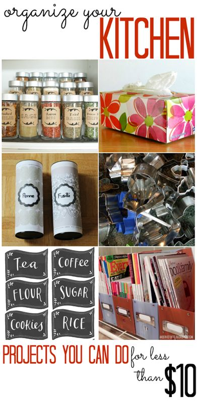 157 Best Diy Kitchen Organization Images On Pinterest