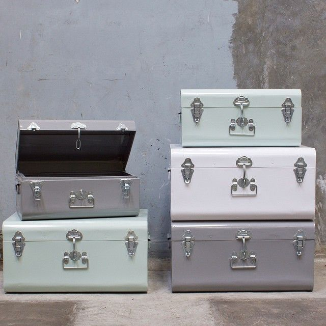 Suitcases by Sostrene Grene