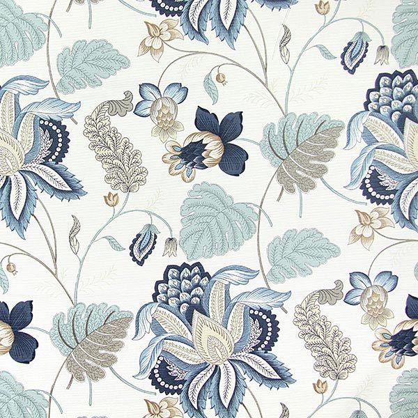 samanta azul metlico telas de decoracin extra anchas telas de decoracin u