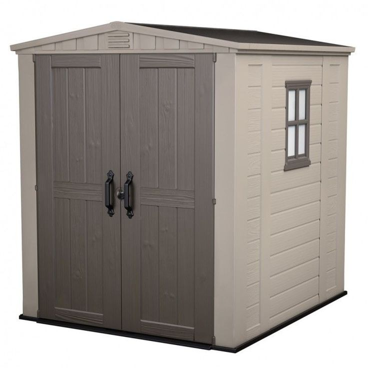 Garden House Shed Storage Outdoors Patio Weather Resistant Modern Shelves Doors #GardenHouseShed