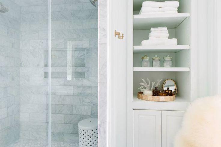 Bella Mancini Design Bathrooms Shower Stool White