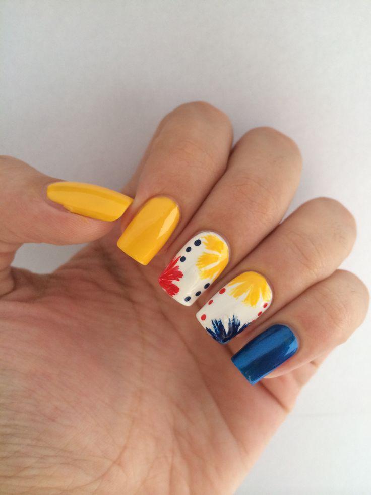 Colombia - fifa world cup- uñas / Colombia nails /nailart