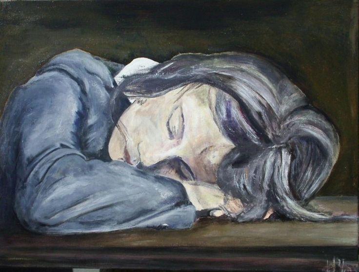 Slapend meisje www.debla.be