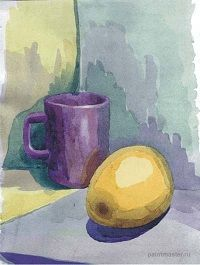 Уроки акварельной живописи- Как научиться рисовать