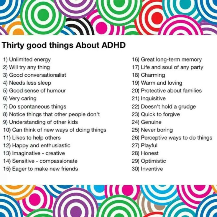 adhd characteristic in adult