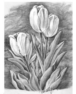 flowers pencil drawing - Google Search | Pencil drawings ...