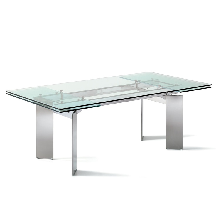 84 best images about mesas extensibles on pinterest - Table transparente ikea ...