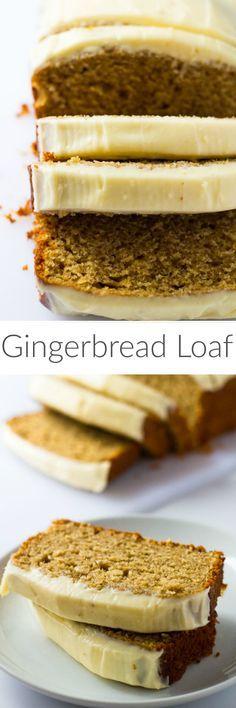 Gingerbread Loaf | Marsha's Baking Addiction