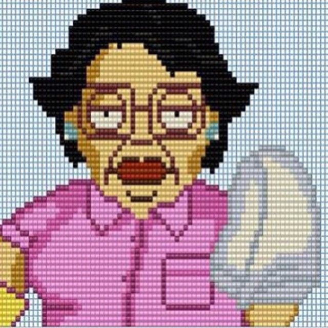 """Made a consuela perler (no no me no perler) :) hope you guys use her :) if you do give credit please"" #Family_Guy"