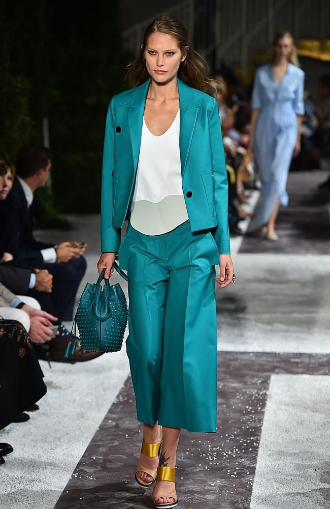 Fashion style Model sick catherine mcneil misses milan for woman