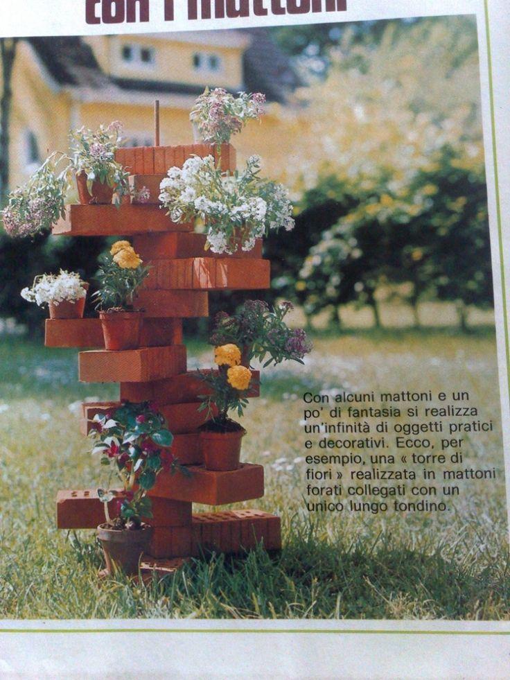Una torre di fiori
