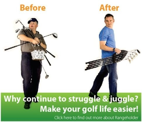 £19.99All golfers need to practice to become more consistent. The best way to practice is with 5 Clubs. Use the Award Winning Rangeholder to carry your clubs for you and you will be amazed with the results. No need to carry your clubs loose all lug a whole bag around with you