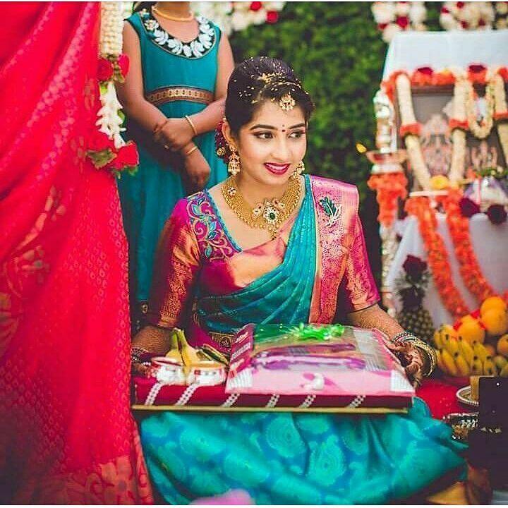 """1,892 Likes, 4 Comments - SWAYAMVARAA WEDDING EXHIBITION (@swayamvaraa_wedding_exhibition) on Instagram: """"Pc @deepak_vijay_photography #tamilbride #southindianbride #telugubride #southasianwedding…"""""""