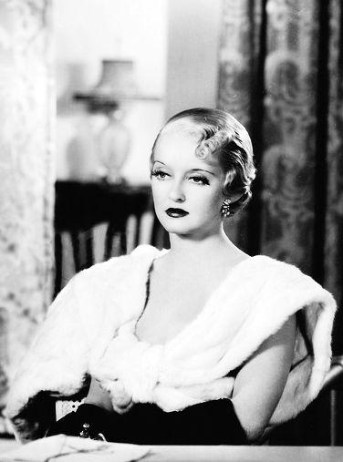 Bette Davis, 1934.