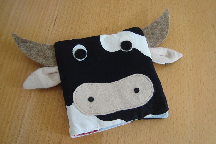 Kleefalter: Pixibuchhülle Kuh