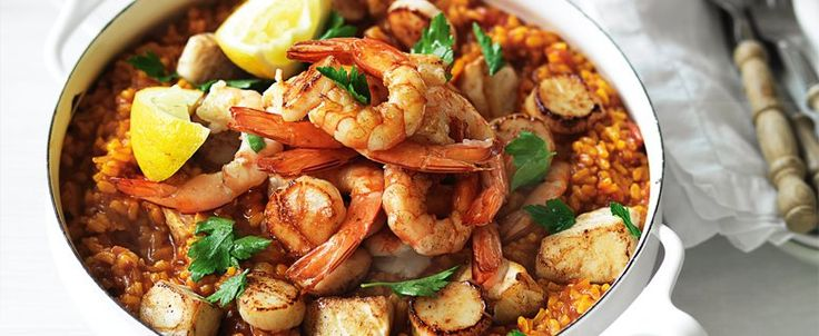 Summer Paella recipe, brought to you by MiNDFOOD.