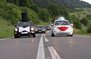 Detodomanualidades: Modelos de decoración de autos para bodas
