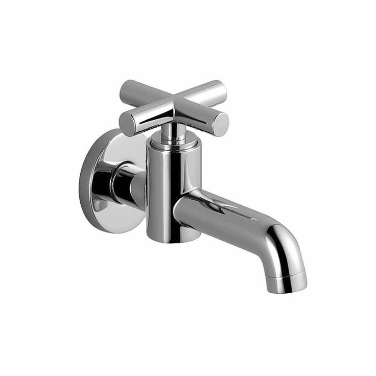 Dornbracht Tara Wall-Mounted Pillar Tap | Basin Taps | CP Hart