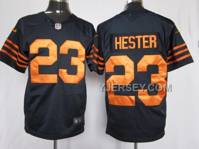 NEW ARRIVAL NIKE BEARS 23 HESTER BLUE& ORANGE NUMBER LIMITED JERSEYS, Only$36.00 , Free Shipping! http://www.yjersey.com/new-arrival-nike-bears-23-hester-blue-orange-number-limited-jerseys.html