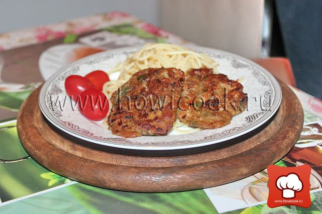 Котлеты с куриной печенью и куриным филе