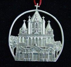 Trinity Church of Boston SC&L Sterling Ornament