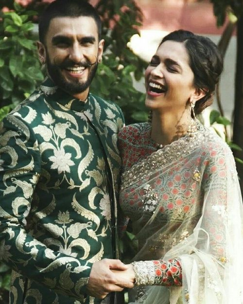 Deepika's killer smile with her Dearest good friend Ranvir Singh
