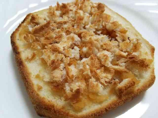 時短!食パン1枚☆アップルパイ風トーストの画像