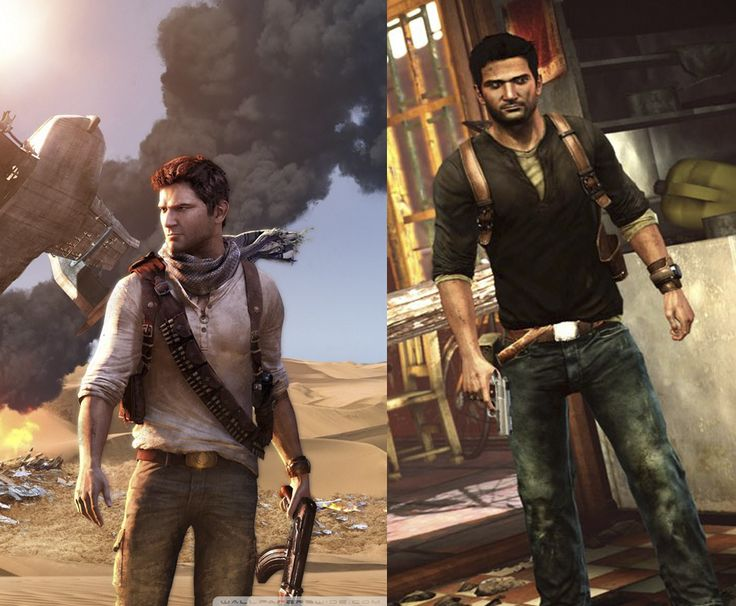 Nathan Drakes Style from Uncharted