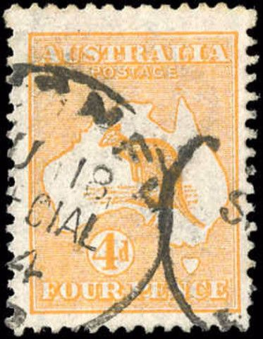 Australia, ###6, F+, Used