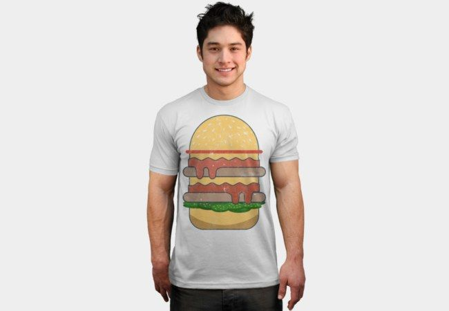 Sunday Spicy Burger T-Shirt - Design By Humans