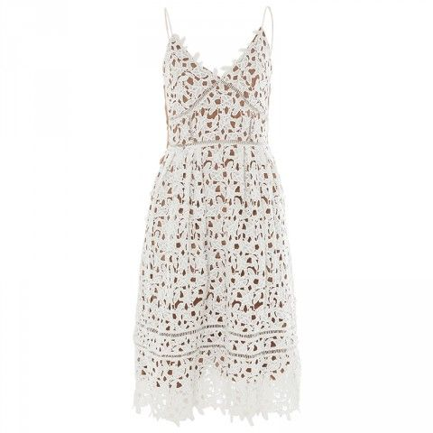 Poetry Olivia Strappy Lace Dress