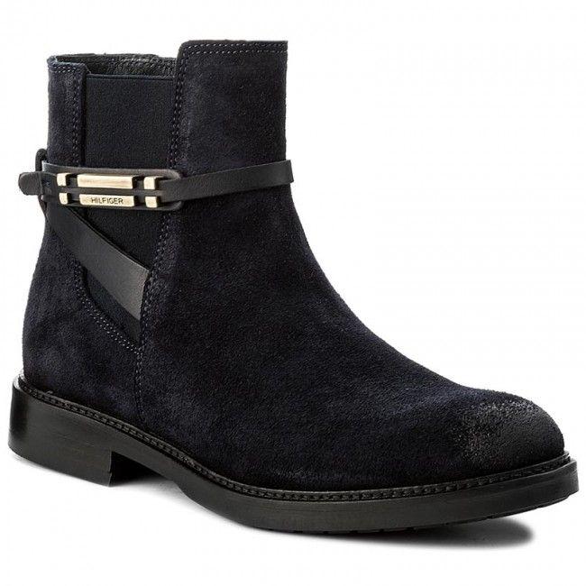 Magasított cipő TOMMY HILFIGER - Holly 15C FW0FW01252  Midnight 403