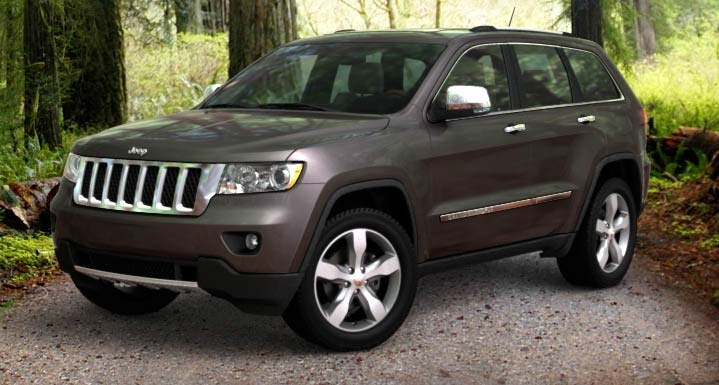 2012 Grand Cherokee Overland...with cooled and heated seats...