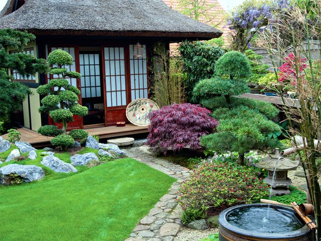 kleinen japanischen garten anlegen google search japanese gardens pinterest kleiner. Black Bedroom Furniture Sets. Home Design Ideas