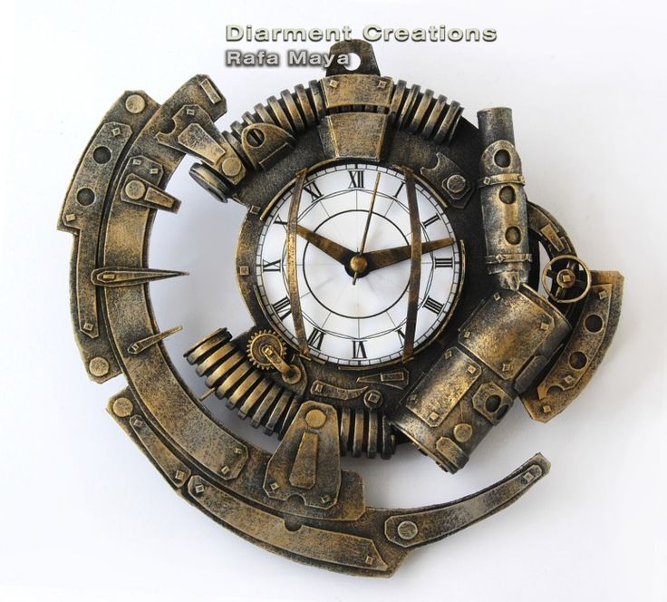 Ring In The Steampunk Decor To Pimp Up Your Home: 25+ Best Ideas About Steampunk Clock On Pinterest