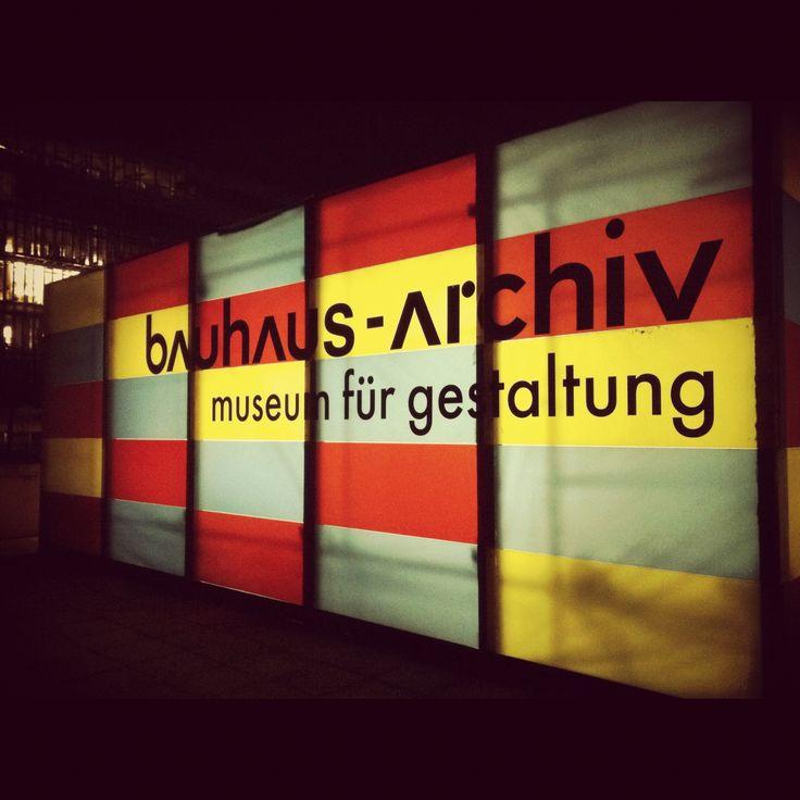 Bauhaus-Archiv by Walter Gropius, Berlin