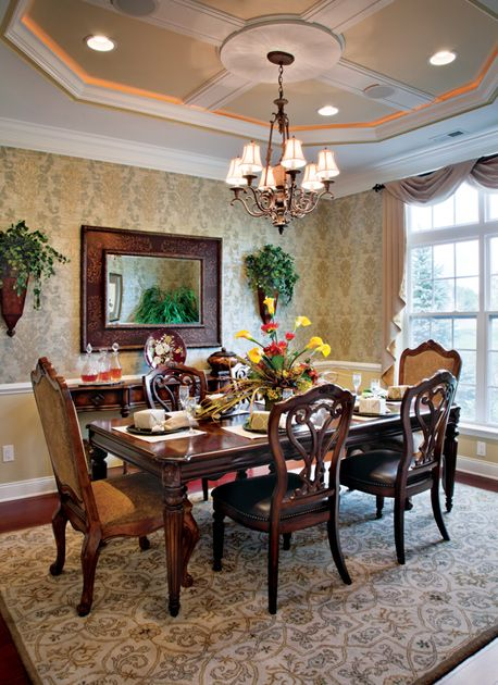 109 best Dining Rooms images on Pinterest   Toll brothers, Luxury ...