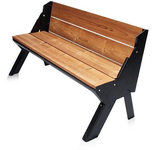 The Folding Dutchman is de meest stijlvolle manier om de mogelijkheden van een bank en een tafel te combineren.