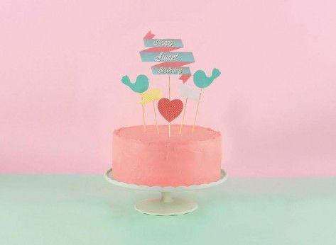 Accesorii tort Sweet - Mindblower Cadouri pentru petreceri dulci alaturi de cei mai buni prieteni.