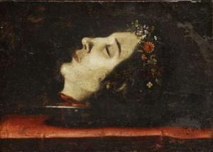 Josefa de Ayala, Cabeza cortada de Santa Catalina